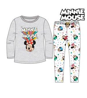 Schlafanzug Für Kinder Minnie Mouse 74737 Grau
