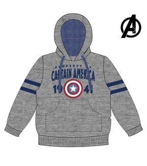 Unisex Sweater mit Kapuze The Avengers 74133 Grau
