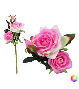Zweig mit 3 Rosen 113304 (35 cm)