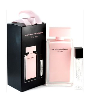 Set mit Damenparfum For Her Narciso Rodriguez (2 pcs)