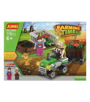 Baukasten mit Blöcken Farming Time 119665 (119 pcs)
