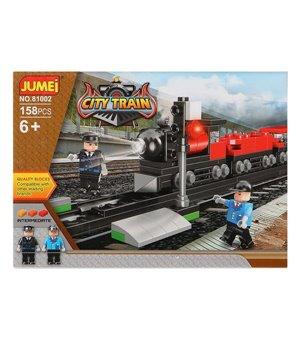 Baukasten mit Blöcken City Train 119818 (158 pcs)