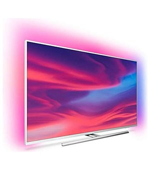 "Smart TV Philips 55PUS7354 55"" 4K Ultra HD LED WiFi Ambilight Silberfarben"