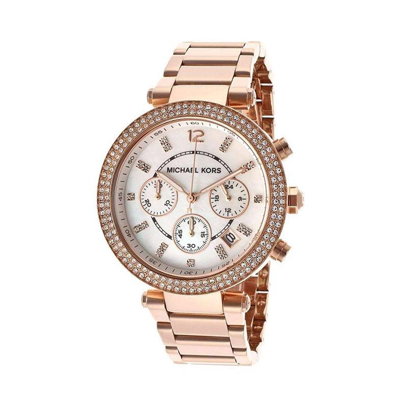 Michael Kors Damen Uhren Orange - MK5491