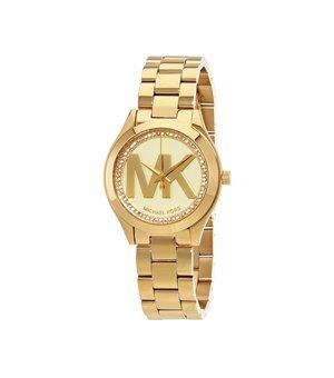 Michael Kors Damen Uhren Gelb - MK3477