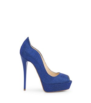Arnaldo Toscani Damen High Heels Blau - 1218005