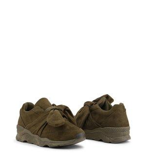 Xti Damen Sneakers Grün -...