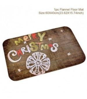 Weihnachtliche Fußmatte