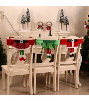 Weihnachten Stuhlhussen...