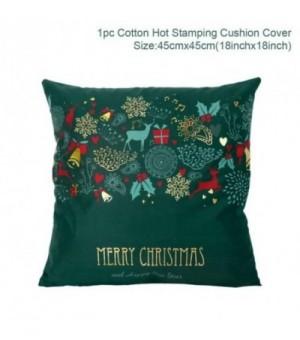 Weihnachten Grün Baumwolle...