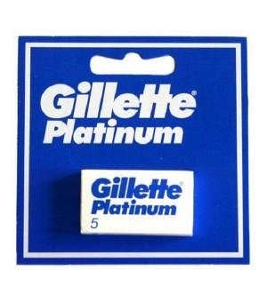 Ersatz-Rasierklingen Platinum Gillette (5 uds)