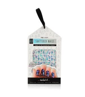 Aufkleber für Fingernägel Shattered Nails Soko Ready (120 uds)