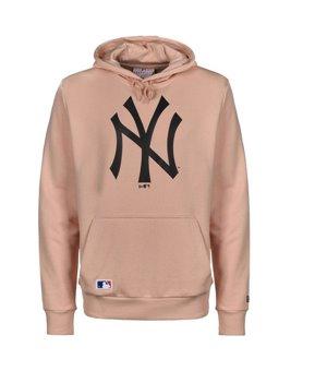 Herren Sweater mit Kapuze Ny New Era MLB SEASONAL TEAM Rosa
