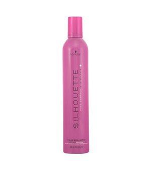 Styling Schaum extra starker Halt Silhouette Schwarzkopf (500 ml) Gefärbtes haar