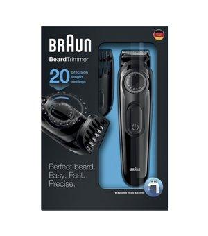 Elektrischer Rasierapparat Braun BT3022 Aufladbar Schwarz