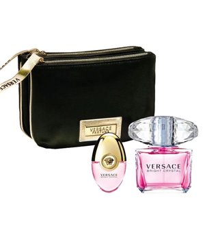 Set mit Damenparfum Bright Crystal Versace EDT (3 pcs)