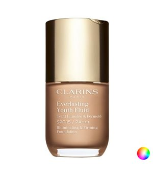 Fluid Makeup Basis Everlasting Youth Clarins (30 ml)
