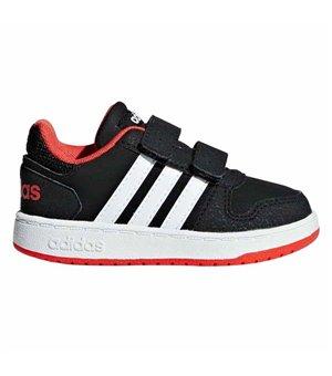 Jungen Sneaker Adidas HOOPS 2.0 BABY Schwarz