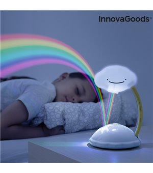 LED-Projektor Regenbogen Wolken Libow InnovaGoods