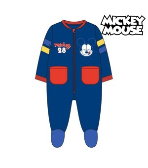 Schlafanzug Für Kinder Mickey Mouse 74758 Marineblau
