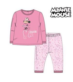 Schlafanzug Für Kinder Minnie Mouse 74684 Rosa