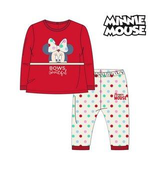 Schlafanzug Für Kinder Minnie Mouse 74683 Rot