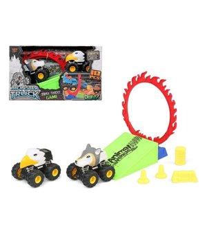 Spielset Fahrzeuge Animal Monster Ministrecke 119800