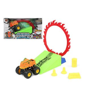 Spielset Fahrzeuge Dino Monster 110820 (9 pcs)