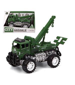 Abschlepplastwagen City Missile 119015 Grün