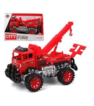 Abschlepplastwagen City Fire 119022 Rot