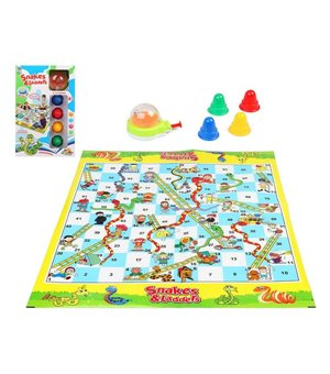Tischspiel Snakes And Ladders Giant Game 112411