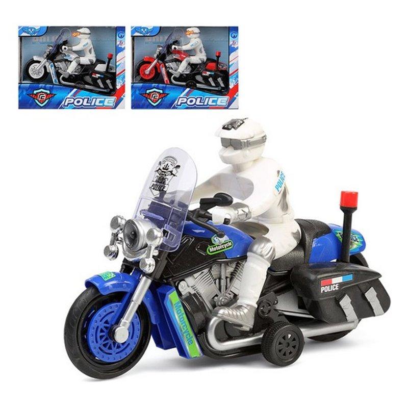 Motorrad Police 112701