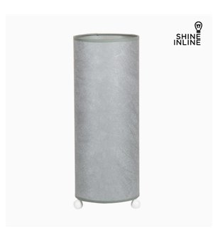 Tischlampe Cellulose Silber by Shine Inline