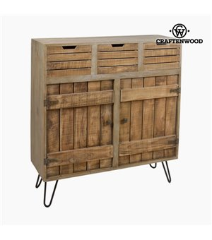 Kommode Holz (100 x 35 x 110 cm) - Far West Kollektion by Craftenwood