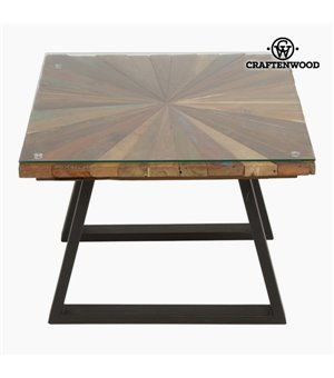 Couchtisch Karriert Holz - Autumn Kollektion by Craftenwood