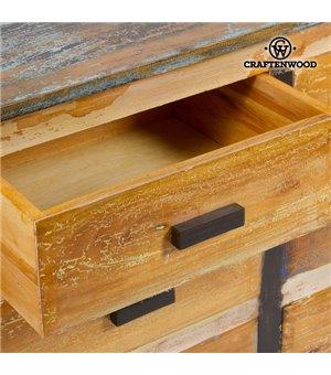 Kommode Holz (110 x 45 x 81...