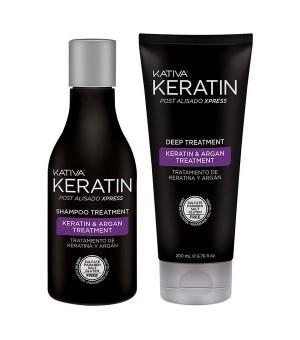 Keratin-Behandlung Kativa (2 pcs)
