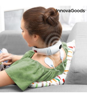 InnovaGoods Elektromagnetisches Nacken- und Rückenmassagegerät