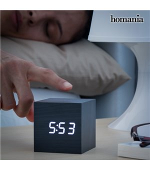 Homania Würfel Digitaler Wecker