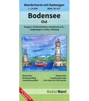 Bodensee Ost 1 : 25 000