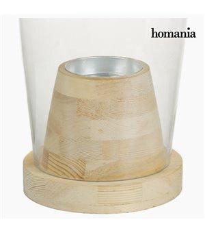 Vase Glas Holz - Pure...