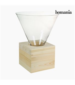 Couchtisch Glas Holz - Pure Crystal Deco Kollektion by Homania