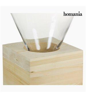 Couchtisch Glas Holz - Pure...