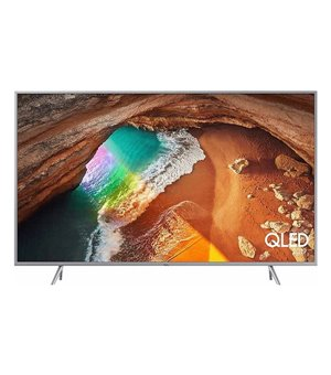 "Smart TV Samsung QE55Q65R 55"" 4K Ultra HD QLED WiFi Silberfarben"