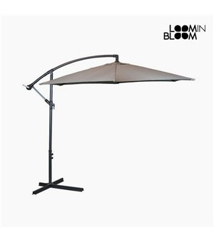 Sunshade Ø 300 cm Grau by Loom In Bloom