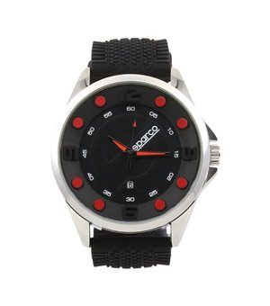 Sparco Herren Uhren Schwarz - ALAIN