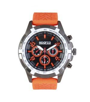 Sparco Herren Uhren Orange - EDDIE