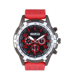 Sparco Herren Uhren Rot - EDDIE