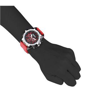 Sparco Herren Uhren Rot -...