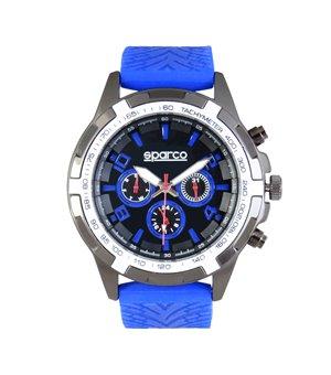 Sparco Herren Uhren Blau - EDDIE